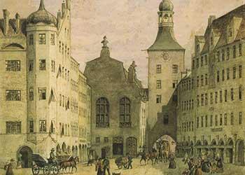 Das Alte Rathaus mit dem Rathausturm