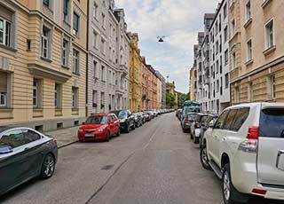 Straße in München