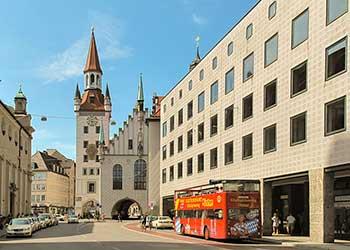 Stadtführung mit dem Bus in München