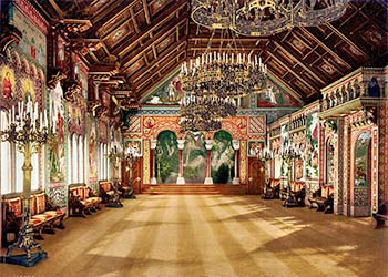 Sängerhallen im Schloss Neuschwanstein