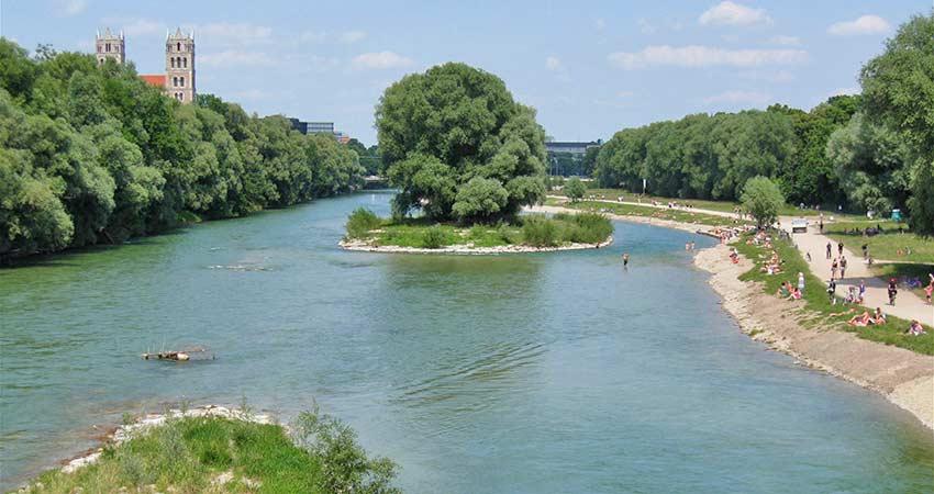 Naherholungsgebiet Isar