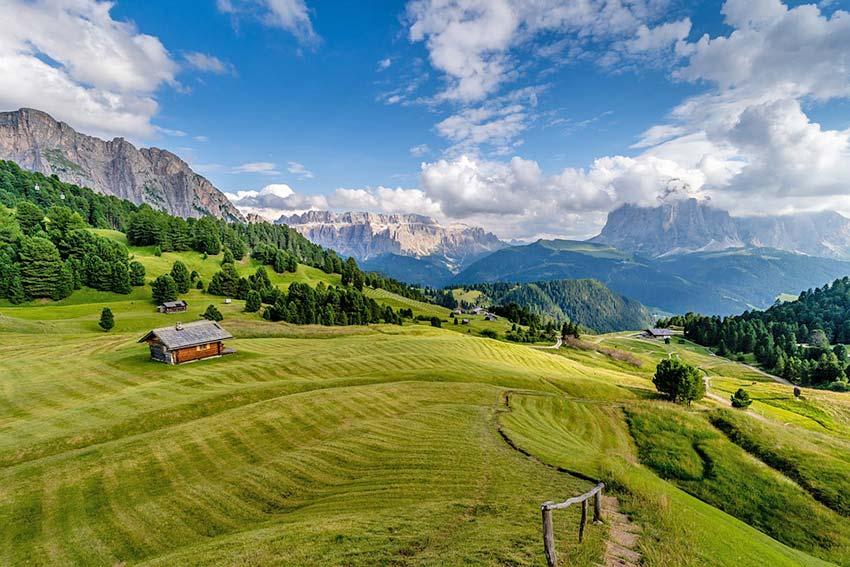Reiseziel Dolomiten